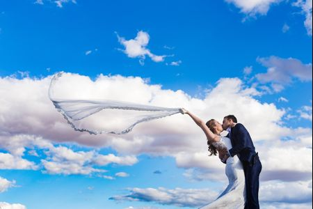 Cómo escoger el velo de novia más apropiado para ti