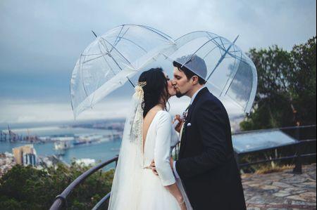 Reportaje de boda en un día de lluvia: 5 ideas maravillosas