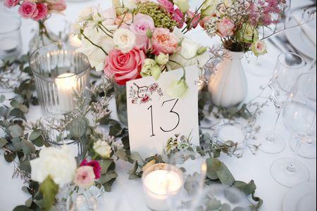 14 centros de mesa para boda con flores