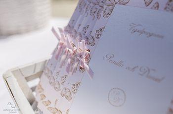 Programa de la ceremonia de boda