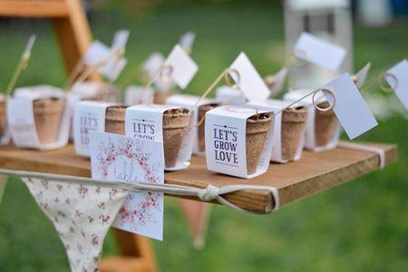 Ideas naturales para bodas: 4 formas de incluir semillas en vuestro enlace