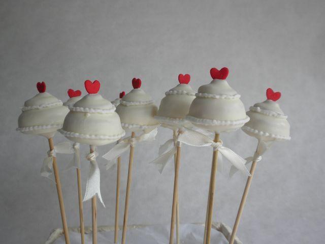 Cake pops caseros para tu boda