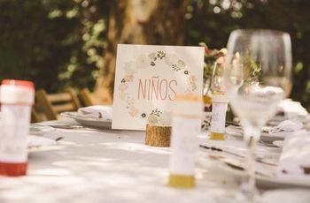 Cómo han de ser las mesas de los peques en el banquete
