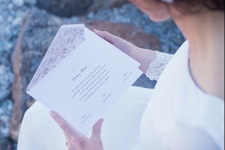 4 cosas que debes saber antes de enviar las invitaciones de boda