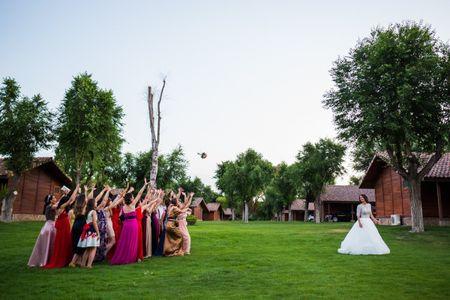 ¡Lanza tu ramo de novia!
