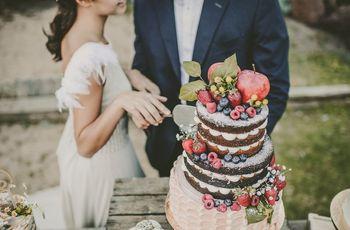 El pastel nupcial que está de moda: 20 naked cakes únicos