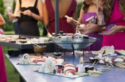 ¿Vas a poner una barra libre de sushi en tu boda?