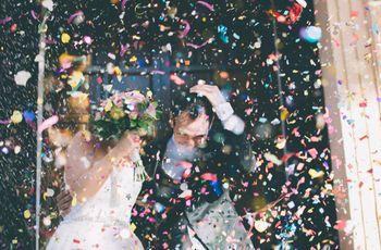 16 claves para una fantástica boda con color