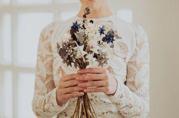 Ramos de novia artificiales: ¡35 ideas que te sorprenderán!