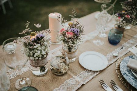 7 ideas para utilizar arpillera en tu boda
