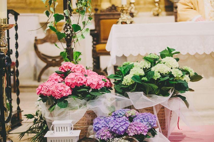 de nuevo todo depender de vuestro estilo de boda y gustos si queris una decoracin con flores pero discreta o simplemente