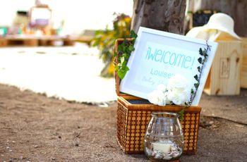 25 ideas de detalles para una boda en la playa