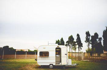 Pon una caravana vintage en tu boda