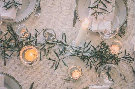 ¡Decorad vuestra boda con velas! 5 ideas para las mesas del banquete