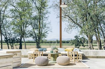 Ideas originales para bodas: 5 básicos para una zona chill out perfecta