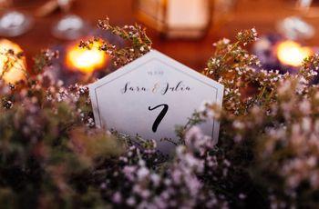 Meseros otoñales: el toque más cálido para la decoración de vuestro banquete