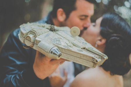 7 ideas para una boda inspirada en Star Wars