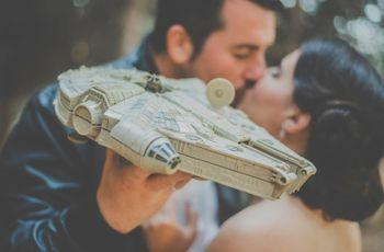 """7 ideas para una boda inspirada en Star Wars: decid """"sí"""" a un enlace original y ¡galáctico!"""