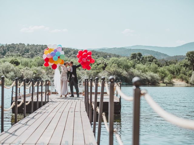 Fotografías con globos: originalidad y romanticismo