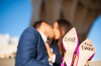 8 ideas geniales para anunciar vuestro save the date