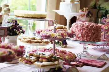 Ideas para un candy bar, la mesa de dulces de tu boda