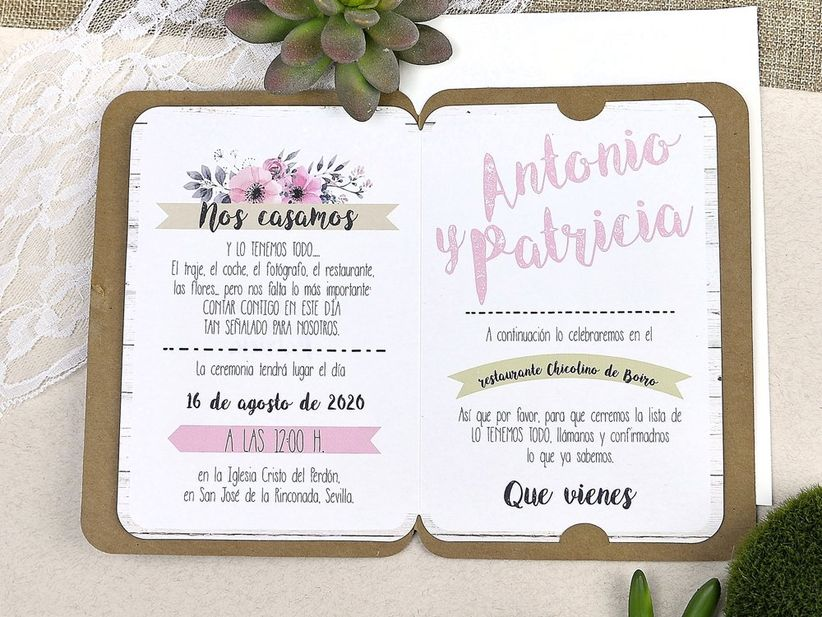 Novias de primavera: LAS INVITACIONES 💌 2
