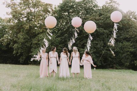 7 ideas para pedir a tus amigas que sean tus damas de honor