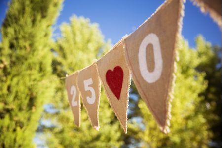 Guirnaldas para bodas: ¡un must decorativo!