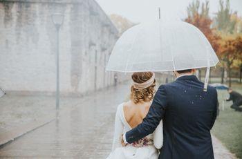 Casarse en un día de lluvia: ¿qué supersticiones se esconden detrás?