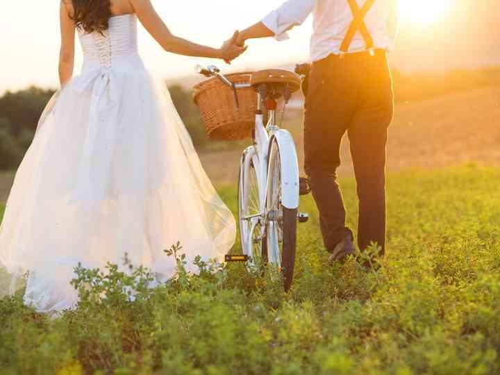 8 usos para bicicletas en vuestra boda