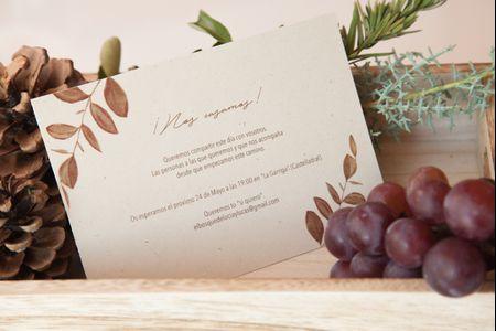 Invitaciones de boda otoñales: cómo lograr un diseño único, acorde con la estación
