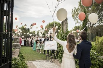 Ideas originales de boda: ¿cómo divertir a vuestros invitados?