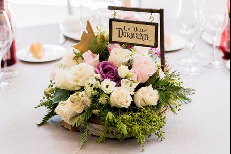 7 centros de mesa con flores... ¡que os enamorarán!