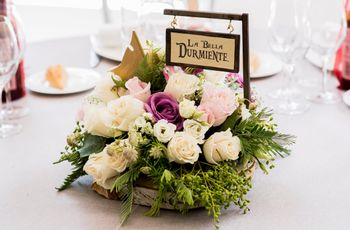 Ideas originales para bodas con flores: 7 centros de mesa que ¡os enamorarán!