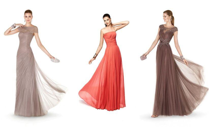 5c6dda3c8 La firma Pronovias no podía ser menos y ha presentado su colección completa  de vestidos de fiesta para este 2015
