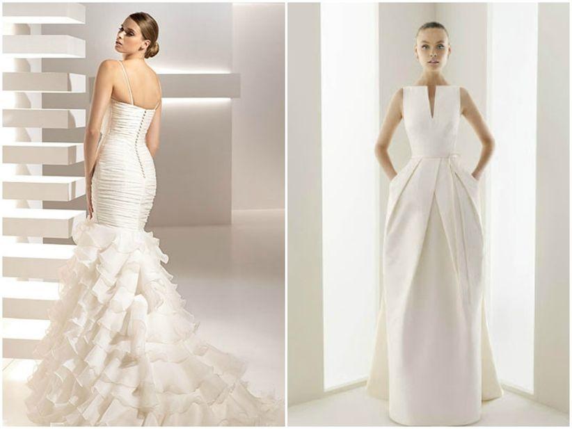 fefc2399f538 Nuevas tendencias en vestidos de novia para el 2010