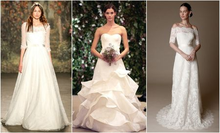 Vestidos de novia New York Bridal Week primavera-verano 2016