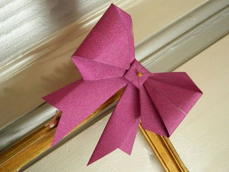 Haz tus propios lazos origami