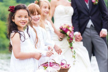 C�mo lidiar con pajes de boda algo revoltosos