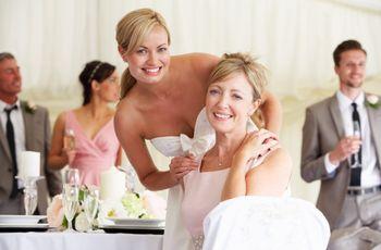 El rol de la madre de la novia