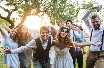 12 invitados que nunca faltan en las bodas: ¡preparaos!