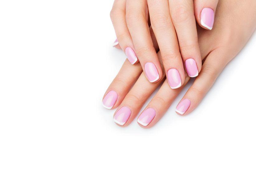 Resultado de imagen para manicura rosado