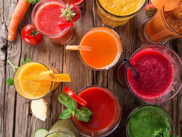 Depuraos con zumos naturales antes del día B