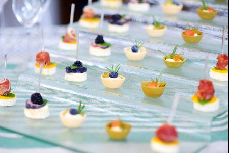 Finger food: un banquete de boda diferente