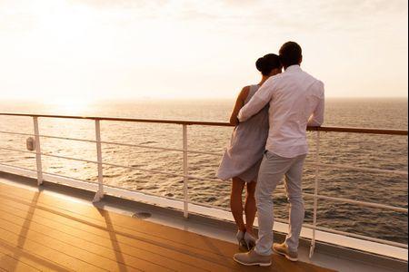 De crucero por el Mediterráneo en la luna de miel