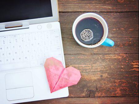 ¡Enamorados a través de internet!