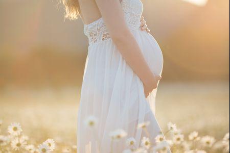 7 preguntas que se hacen las novias embarazadas