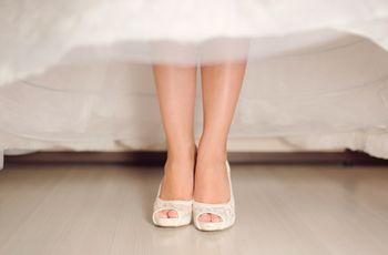 50 zapatos de novia vintage con encanto para tu boda