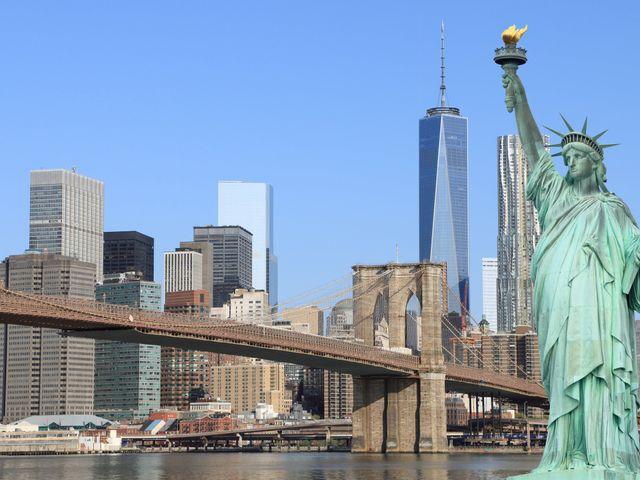 Luna de miel en Estados Unidos:  6 destinos top