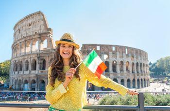 Luna de miel en Italia. ¡Viva l'amore!